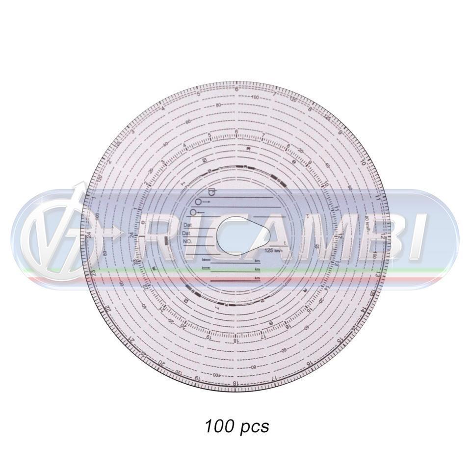 DISCHI TACHIGRAFO 125KM/H