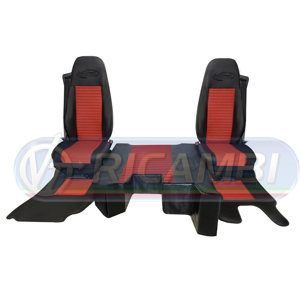 KIT MINI CABINA BLACK EDITION VOLVO FH 4 2013- MCV0702 ROSSO