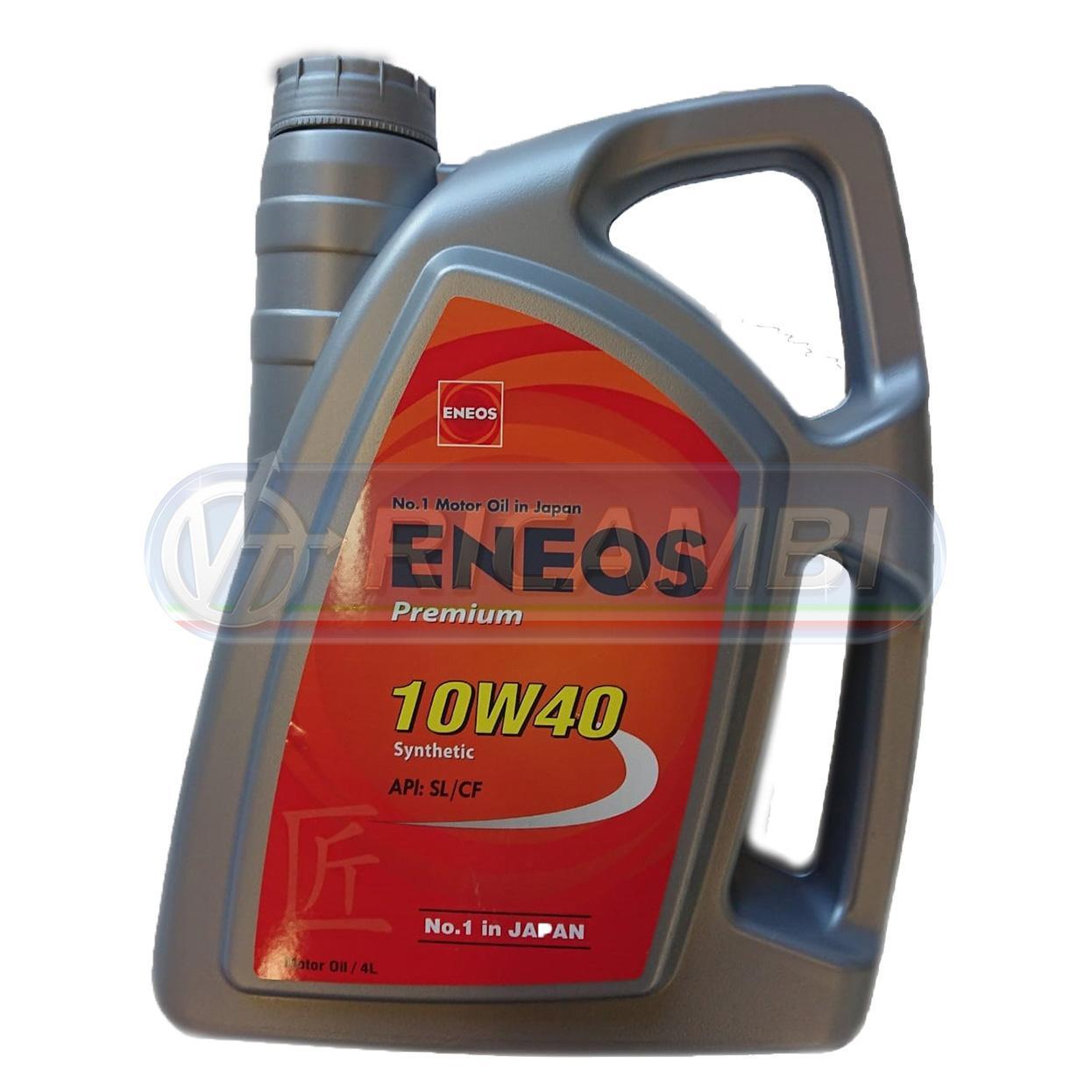 OLIO MOTORE ENEOS 10W40 PREMIUM 4 LT
